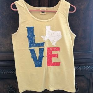 Comfort colors - love Texas tee